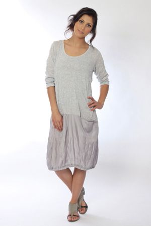 Pure, simple and sophisticated is the Indiana tunic dress. Dress it up or dress it down? - you choose.