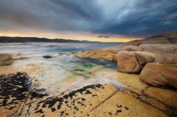 Bicheno Coast in Tasmania