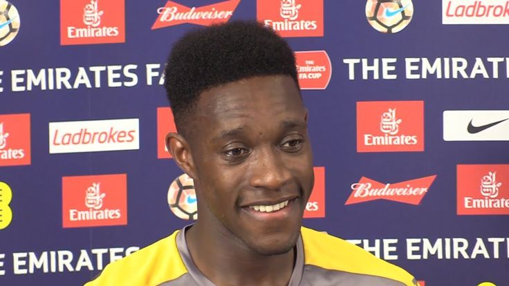 nice Danny Welbeck Full Pre-Match Press Conference - Arsenal v Chelsea - FA Cup Final