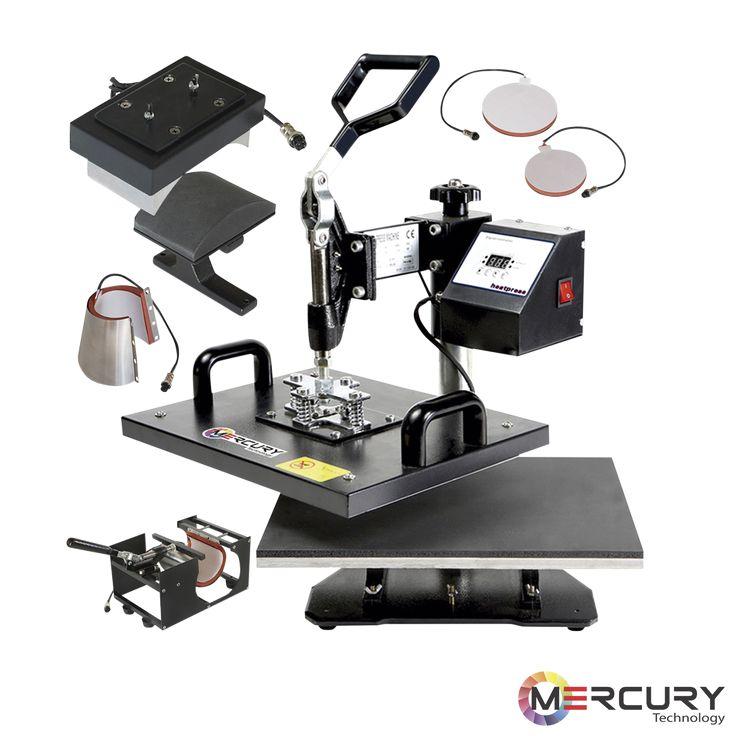 Máquina sublimadora 8 en 1. #Mercury #Technology #Vallamovil #Publicidad
