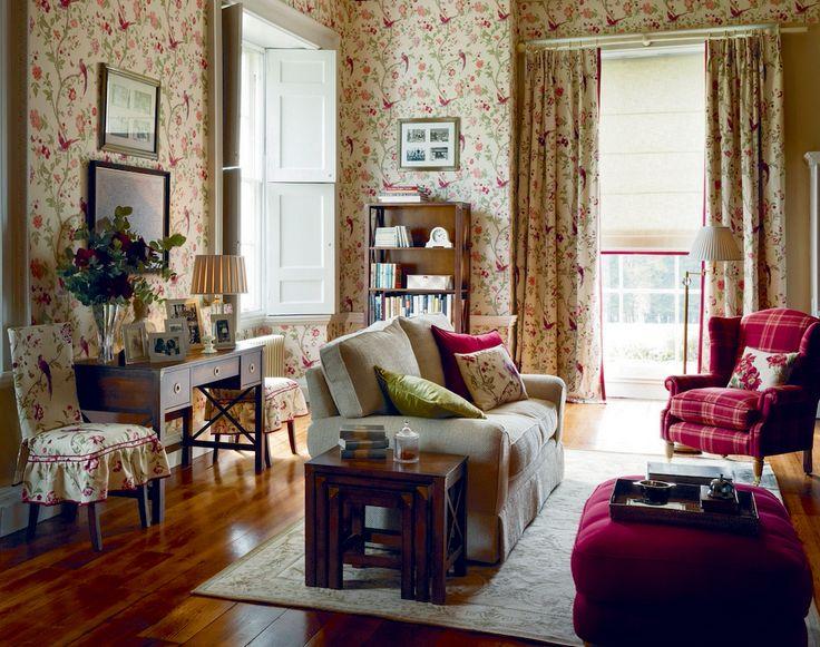 Laura Ashley Country Elegance Collection French CottageLaura AshleySitting RoomsHome