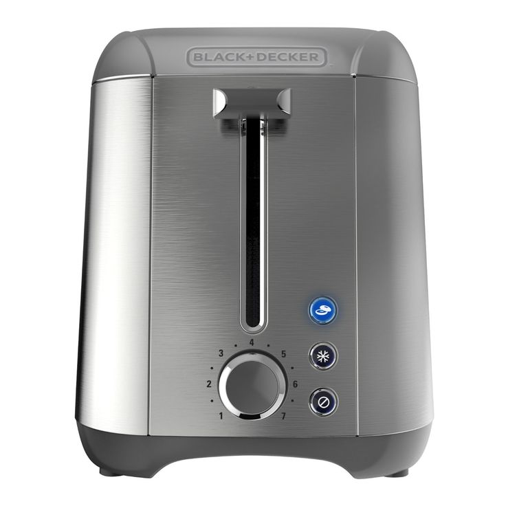 Amazon.com: BLACK+DECKER TR3500SD Rapid Toast 2-Slice Toaster, Silver: Kitchen & Dining