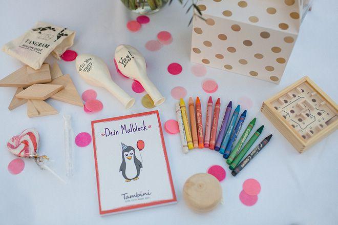 Tipps für Kinder bei der Hochzeit - Tambini Überraschungspaket10