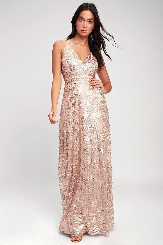 33+ Champagne sparkle dress ideas