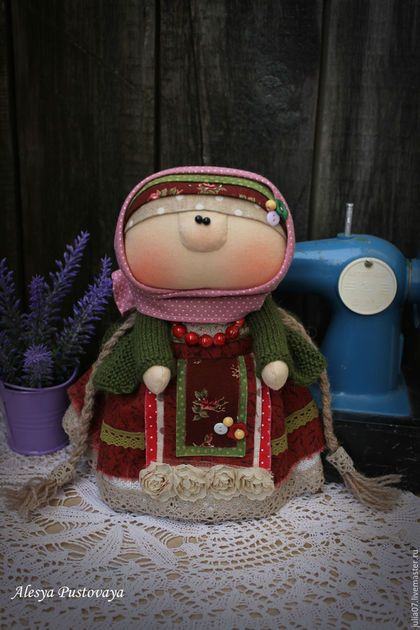 Folk style doll / Народные куклы ручной работы. Ярмарка Мастеров - ручная…
