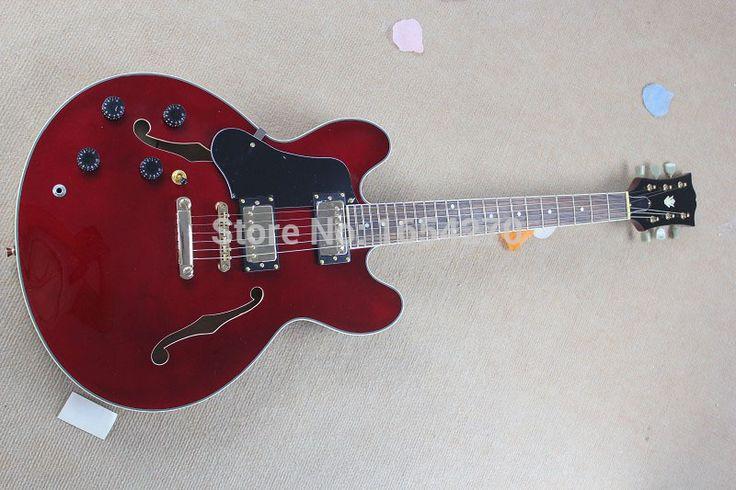 Free shipping new brand ES335 Hollow jazz electric guitar left-handed guitar left-handed guitar  150701 #Affiliate #LeftHandedGuitar