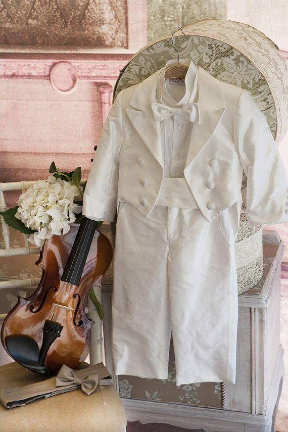 Silk Christening Suit Sty.No G 1011-6 by StyledByAlexandros