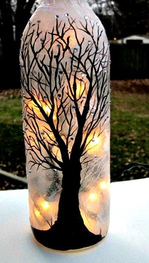 Craft home and garden ideas creative diy wine bottle for Creative ideas for empty wine bottles
