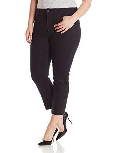 NYDJ Women's Plus-Size Audrey Ankle Jeans