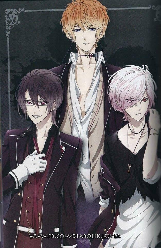 Sakamaki brothers Diabolik Lovers Manga & Anime