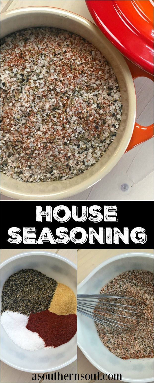 Wake up your recipes with homemade house seasoning that's easy to make!