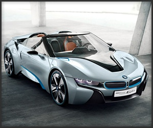 a BMW i8 ConceptI8 Concept, Bmwi8,  Sports Cars, Concept Spyder, Bmw I8, Spyder Concept, Bmw Concept, Concept Cars, I8 Spyder