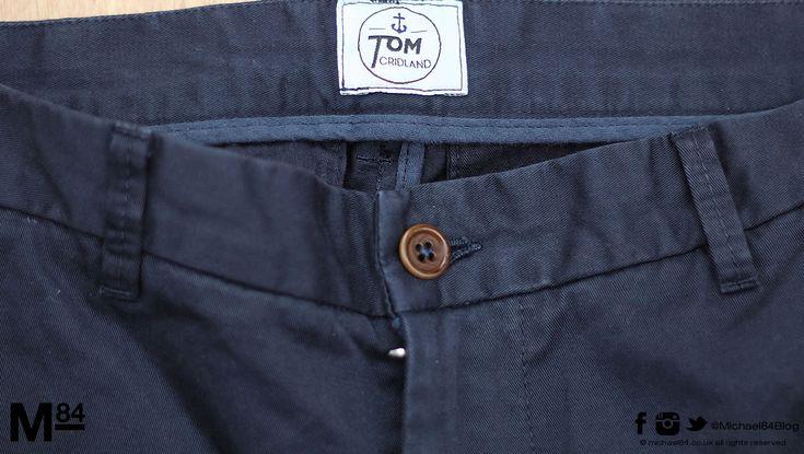 British Fashion Brand Tom Cridland Trousers Going Stateside
