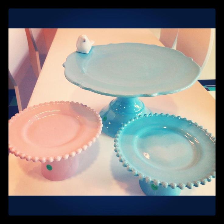 Our cakestands/ By Marie Antoinette, que coman pastel.