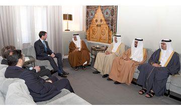 Bahrain News Agency   Crown Prince Salman bin Hamad meets Crown Prince Pavlos Constantine of Greece