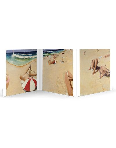 Renowned Australian Artist Brett Whiteley's painting of Bondi Beach is an Australian Summer classic. Support #hamlinfistula and click through to buy your own #brettwhiteley gift card packs perfect for any time of year!