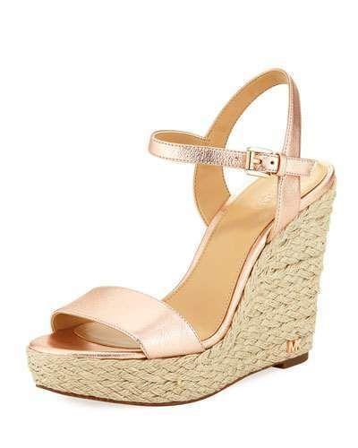 e9e09aa5529 Jill Metallic Napa Espadrille Wedge Sandal #jute#braided#platform ...