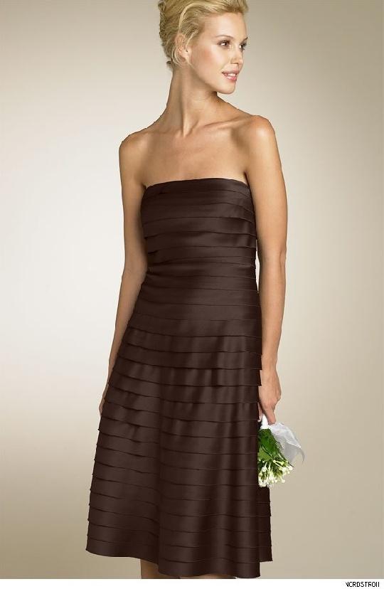 1000  ideas about Brown Wedding Dresses on Pinterest  Halloween ...