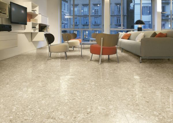 Dare To Be Different With Beige Terrazzo Tiles From Italian Tile And Stone Dublin Vloer