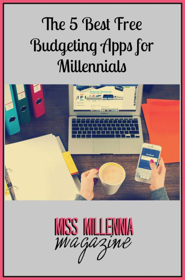 The 5 Best Free Budgeting Apps for Millenials #money #tools #guide
