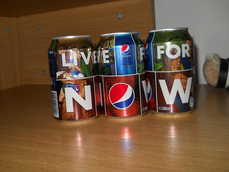 Yeaaah! Live For Now! #pepsilove