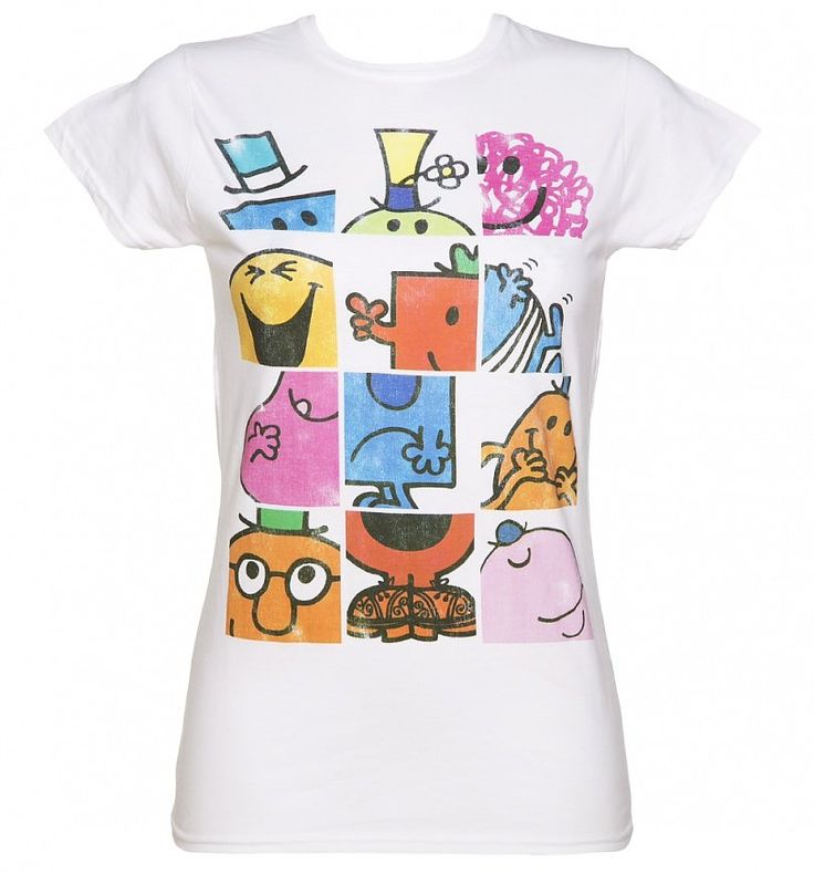 Ladies #MrMen Mash Ups T-Shirt xoxo