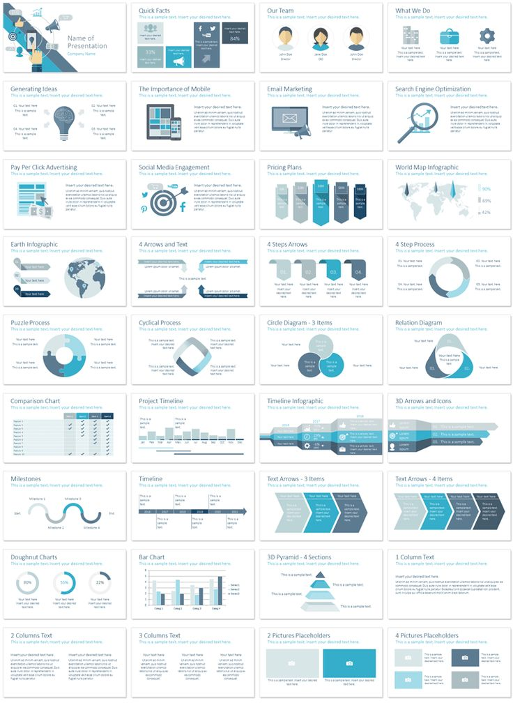 133 best Powerpoint Templates images on Pinterest Role models - marketing presentation