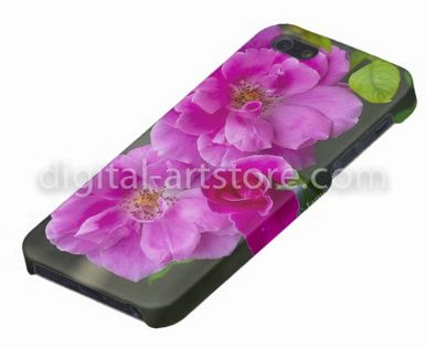 iPhone case, Bright Pink Roses - Artstore $55 AUD, free delivery