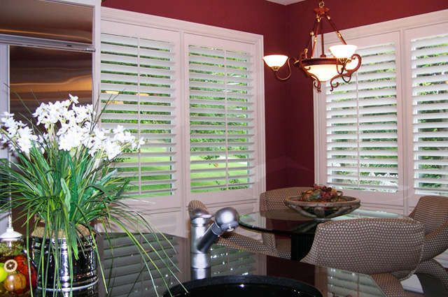1000 images about interior shutters on pinterest window for Should plantation shutters match trim