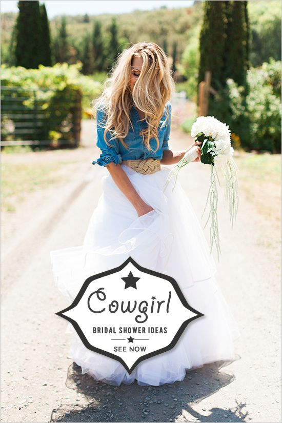 cowgirl bridal shower ideas                                                                                                                                                      More
