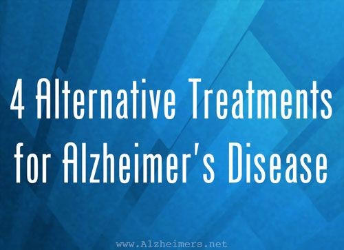 Do you know of any other alternative treatments for Alzheimer's?