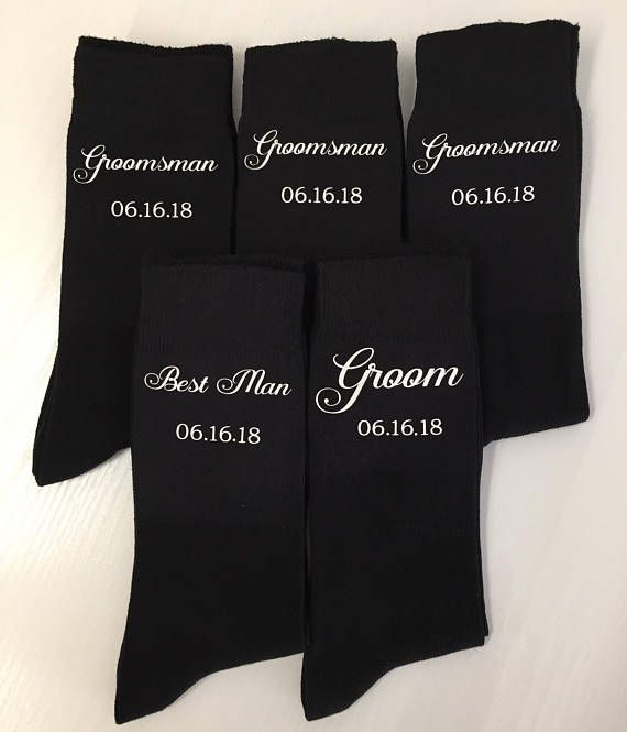 These make perfect socks for the Groomsmen, simply select roles from the drop down menu and pop a message with your wedding date in the Order and Delivery Comments box just before you check out. If date is not left at checkout, socks will be printed with just the roles you have