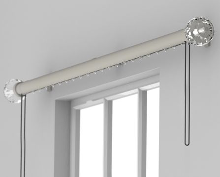 a sleek and sophisticated collection which offers the elegant looks of a curtain pole with the superb functionality of a glider or roller system.