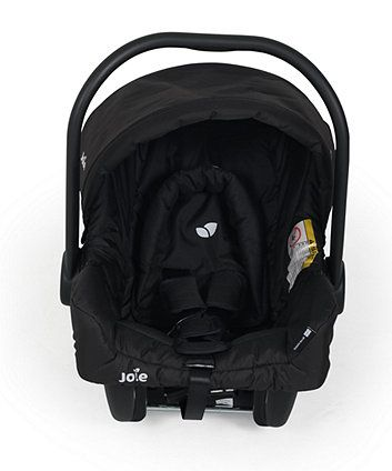 The Joie Juva baby car seat features side impact protection to keep your baby safe on your journey and can be used with the range of Joie strollers and pushchairs to form a handy travel system
