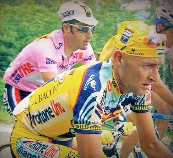 #MarcoPantani e Jalabert  #PersonalTrainerBologna #sport #bicicletta #bici #bdc #endurance #nutrizione #ciclismo