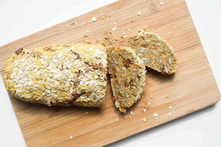 Meerzaden Zoete Aardappel Brood met Vijgen - Blij Suikervrij