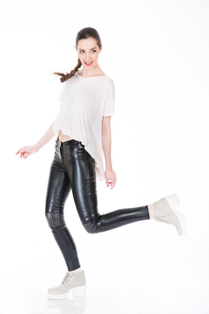 #leatherpants www.bluzat.ro
