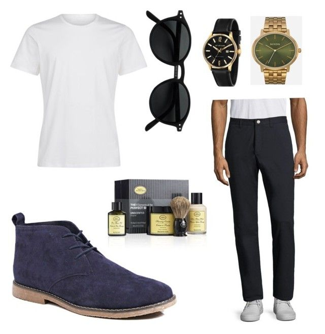 """""""Style it🔜"""" by alice12 on Polyvore featuring Bonobos, Boohoo, Nixon, James McCabe, The Art of Shaving, men's fashion and menswear"""