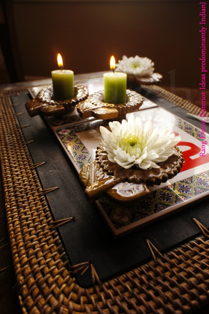 Rang-Decor {Interior Ideas predominantly Indian}: Spreading light and happiness...