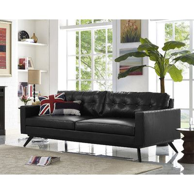 9 best sofa images on Pinterest Diapers, Sofa sofa and Black sofa - chesterfield sofa holz modern