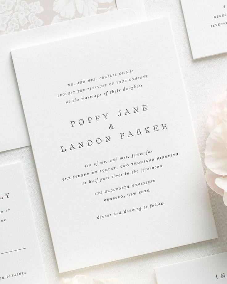 letterpress wedding invites london%0A Letterpress wedding invitations are custom printed on an antique letterpress  resulting in deep impressions and a dramatic embossed look