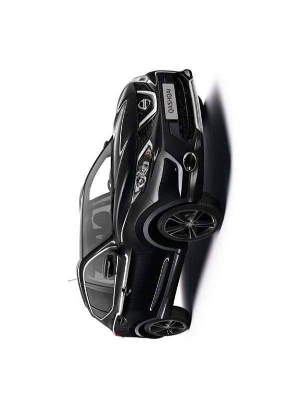 """Журнал """"Автомир. Тест-драйв"""" #Nissan представил ограниченную версию кроссовера Qashqai под названием Black Edition. Тираж новинки для европейского рынка составит всего 3360 экземпляров.  Авто отличают черные 19-дюймовые легкосплавные диски, черные брендированные дверные пороги, дверные молдинги и оригинальная отделка экстерьера. Помимо этого оснащение специальной версии включает в себя панорамную крышу со шторкой на электроприводе.  #авто #журнал #avto #auto #новости #car #машина"""