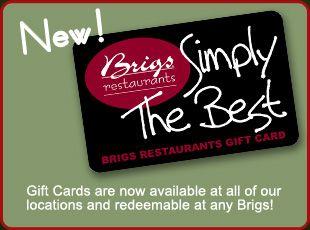 Brigs Restaurant, Raleigh, NC
