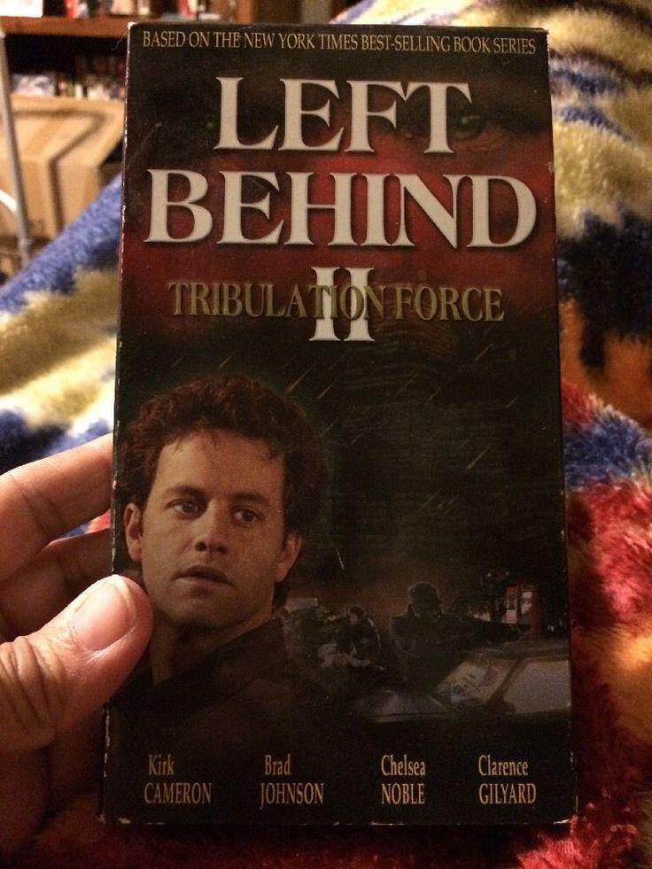 Left Behind II: Tribulation Force (VHS, 2002)Kirk Cameron and Brad Johnson 745638007433 | eBay