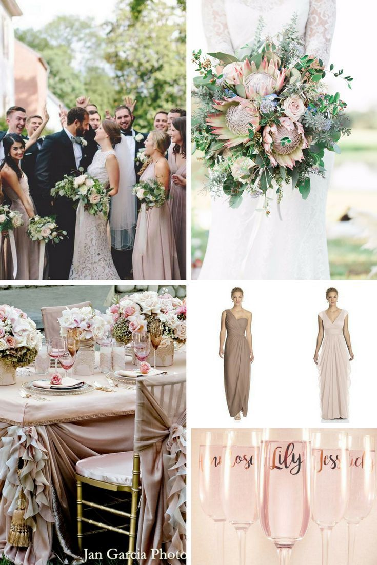 Blush Pink And Beige Wedding Blush Wedding Theme Beige Wedding Pink Wedding Theme