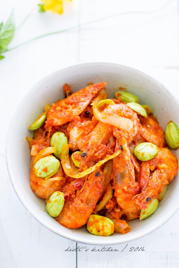 HESTI'S   KITCHEN : yummy for your tummy: Sambal Udang Pete