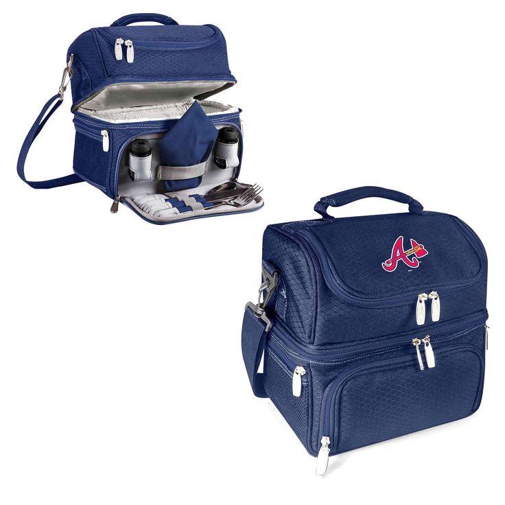Atlanta Braves Pranzo Lunch Tote - Navy - $56.99
