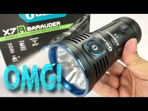 The Absolutely Insane 12000 Lumens Olight X7R Marauder CREE HXP LED Flashlight Review https://youtu.be/x2f73Jkrsdo