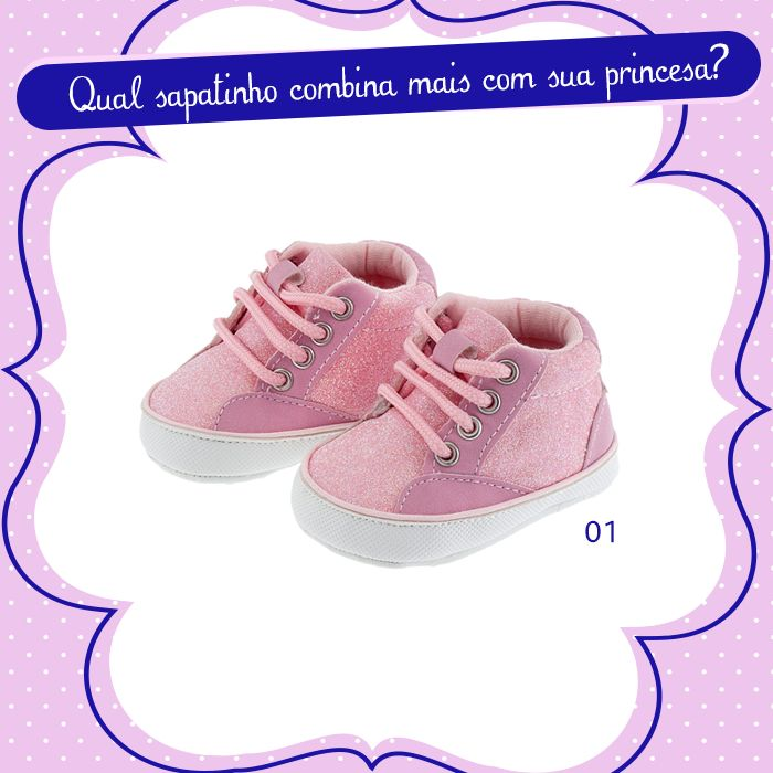 Para as mini- fashionistas arrasarem nesse inverno! Qual sapatinho combina mais com sua princesa?