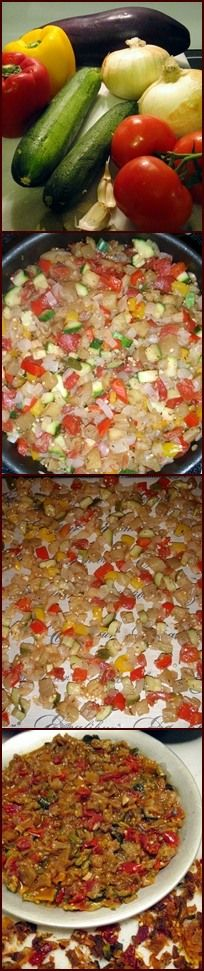 Add a little French cuisine to your camping or backpacking menu with this stunning Ratatouille.  Sure to satisfy all!